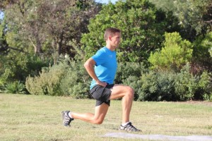Lunge strength training