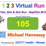The 123 Virtual Run, 2014