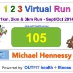 The 123 Virtual Run, 2014